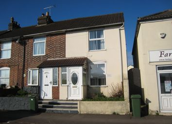 Thumbnail 2 bed end terrace house to rent in Gosport Road, Fareham