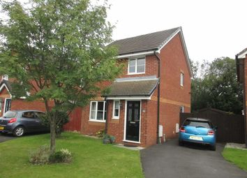 Thumbnail 3 bed detached house for sale in Padiham Close, Leigh, Lancashire