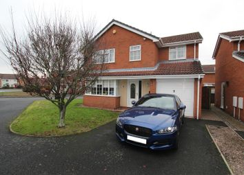 Thumbnail 4 bed detached house for sale in Glencroft Close, Branston, Burton-On-Trent