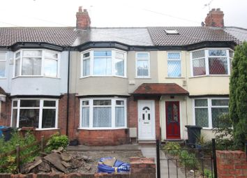 Thumbnail 3 bedroom terraced house to rent in Sutton Road, Hull