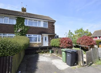 Thumbnail 3 bed semi-detached house for sale in Allen Way, Bexhill-On-Sea, East Sussex