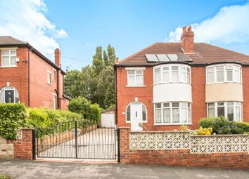 Thumbnail 3 bed semi-detached house for sale in Montagu Avenue, Leeds