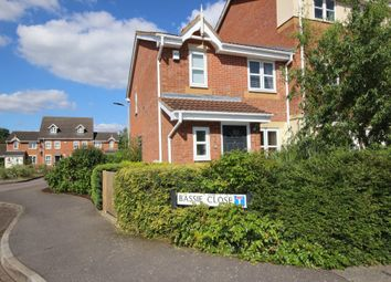 Thumbnail 3 bedroom end terrace house for sale in Bassie Close, Bedford