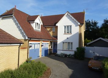 Thumbnail 5 bed detached house for sale in Willow Close, Claydon, Ipswich