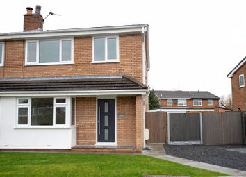 Thumbnail 3 bed semi-detached house for sale in Prescott Avenue, Rufford, Ormskirk