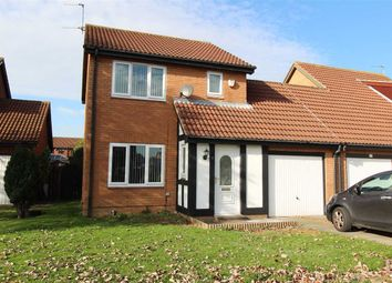 Thumbnail 3 bed detached house for sale in Silverdale Road, Northburn Lea, Cramlington