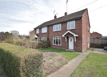 Thumbnail 3 bed semi-detached house for sale in Bowling Green Road, Chobham, Woking