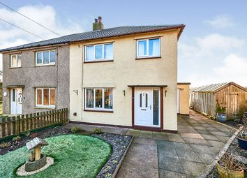 Thumbnail 3 bed semi-detached house for sale in Friars Garth, Abbeytown, Wigton, Cumbria