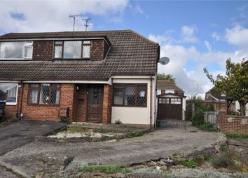 Thumbnail 3 bedroom semi-detached house for sale in Colebrook Road, Coleview, Swindon, Wiltshire