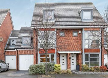 Thumbnail 4 bed terraced house for sale in Keepers Gate, Chelmsley Wood, Birmingham, Keepers Gate