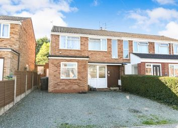 Thumbnail 3 bed semi-detached house for sale in Knottesford Close, Studley, Warwickshire