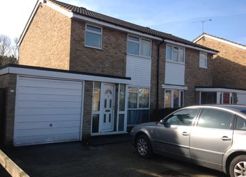 Thumbnail 3 bed semi-detached house to rent in Buckingham Drive, Luton