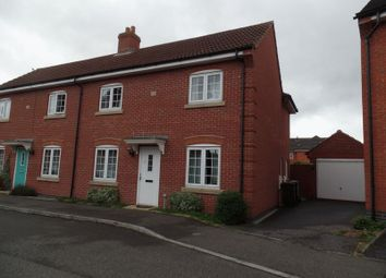 Thumbnail 3 bed semi-detached house to rent in Gabriel Crescent, Lincoln