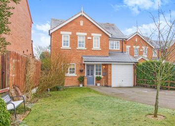 Thumbnail 4 bed detached house for sale in Bradstone Close, Broughton Astley, Leicester