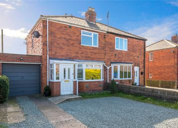 Thumbnail 3 bed semi-detached house for sale in College Road, Cranwell Village, Sleaford, Lincolnshire