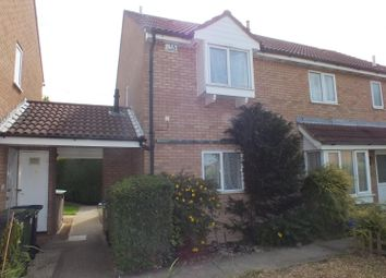 Thumbnail 2 bedroom detached house to rent in Roe Green, Eaton Socon, St. Neots