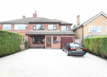 Thumbnail 4 bed semi-detached house for sale in Lychgate Lane, Burbage, Hinckley