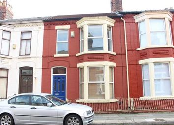 Thumbnail 3 bed terraced house to rent in Allington Street, Aigburth, Liverpool