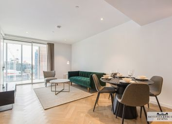 Thumbnail 3 bed flat to rent in Circus Road West, London