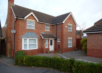 Thumbnail 4 bed detached house for sale in Hood Close, Sleaford