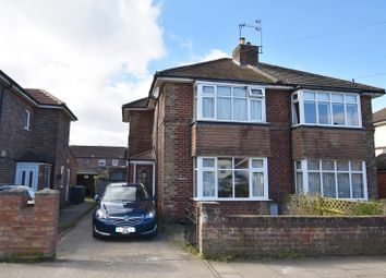 Thumbnail 2 bed semi-detached house for sale in Hambleton Avenue, York