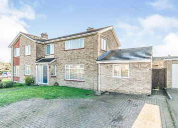 Thumbnail 3 bed semi-detached house for sale in St. Christopher Road, Colchester
