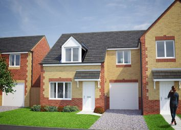 Thumbnail 3 bedroom semi-detached house for sale in Plot 123, The Fergus, Moorside Place, Valley Drive, Carlisle