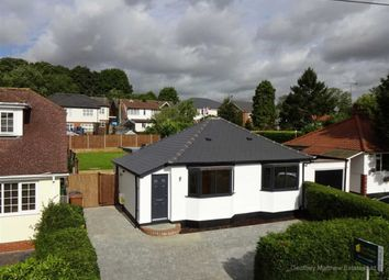 Thumbnail 3 bed bungalow for sale in Forebury Avenue, Sawbridgeworth, Herts