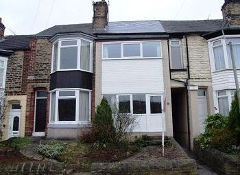 Thumbnail 3 bed terraced house to rent in Manvers Road, Walkley, Sheffield