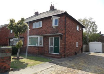Thumbnail 3 bed semi-detached house for sale in Milton Road, Carcroft