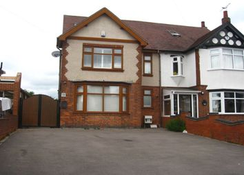 Thumbnail 4 bed semi-detached house for sale in Hinckley Road, Walsgrave, Coventry