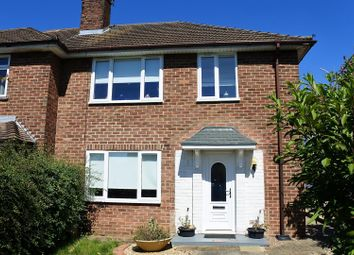 Thumbnail 3 bed semi-detached house for sale in Byron Avenue, Grantham