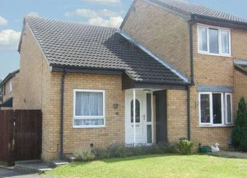 Thumbnail 1 bed end terrace house to rent in Beverstone, Orton Brimbles, Peterborough