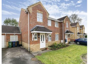 Thumbnail 3 bed semi-detached house for sale in Farmer Close, Chippenham