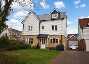 Thumbnail 4 bed detached house for sale in Eldridge Close, Clavering, Saffron Walden