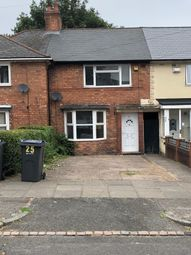 Thumbnail 3 bed terraced house for sale in Sidcup Road, Birmingham, West Midlands
