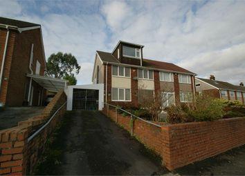 Thumbnail 4 bed semi-detached house for sale in Parklands View, Derwen Fawr, Swansea