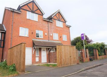 Thumbnail 5 bed town house for sale in Heathfield Drive, Mitcham