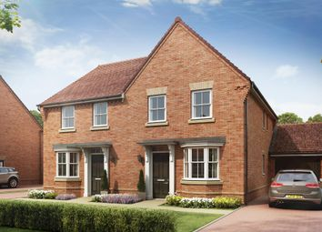 "Thumbnail 3 bed semi-detached house for sale in ""Oakfield"" at Winchester Road, Whitchurch"