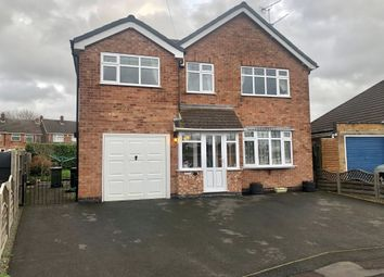 Thumbnail 4 bed detached house for sale in Windermere Road, Wigston