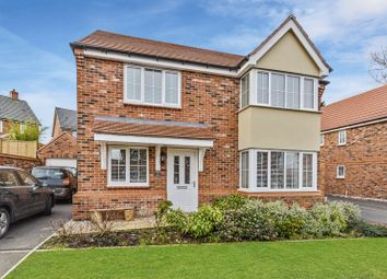 Thumbnail 4 bed detached house for sale in Farrier Gardens, Eccleshall, Stafford