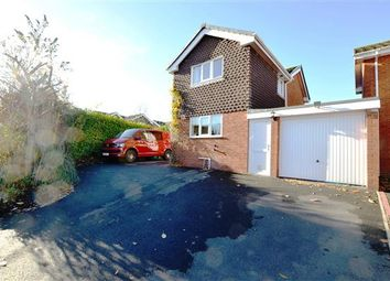 Thumbnail 3 bed detached house for sale in Milan Drive, Westlands, Newcastle-Under-Lyme
