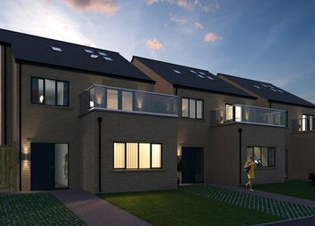 Thumbnail 4 bed detached house for sale in Bramley View, Ford Road, Marsh Lane
