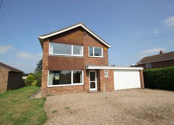 Thumbnail 3 bed detached house for sale in The Street, Rockland St. Mary, Norwich
