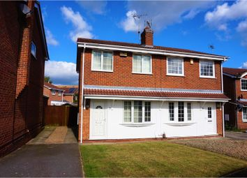 Thumbnail 2 bed semi-detached house for sale in Linnet Drive, Mansfield