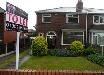Thumbnail 3 bed semi-detached house to rent in Thorne Road, Doncaster