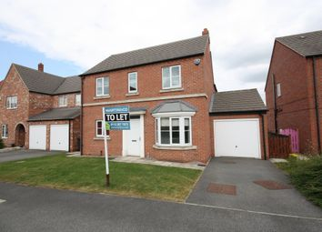 Thumbnail 4 bedroom detached house to rent in Moorland Way, Sherburn In Elmet, Leeds