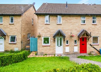Thumbnail 2 bed end terrace house for sale in The Spinney, Brackla, Bridgend