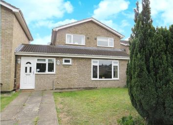 Thumbnail 4 bed link-detached house for sale in Lamble Close, Beck Row, Bury St. Edmunds