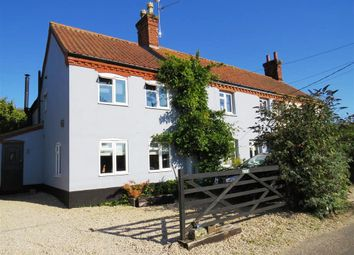 Thumbnail 4 bed cottage for sale in Cawston Road, Brandiston, Norwich